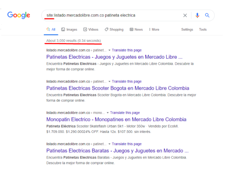posicionamiento en Google o SEO